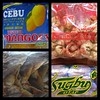 Local goodies from Cebu. Dried mangoes, dried fish, pork cracklings, & otap biscuits. PH #delicacy (Travel Galleries) Tags: food philippines mango cebu local dried delicacies delicacy danggit chicharon otap