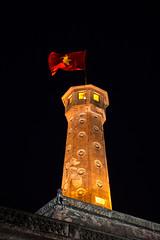 Flag Tower of Hanoi (yoodz) Tags: citadel worldheritagesite vietnam hanoi nguyendynasty imperialcitadel thanglong badinh risingdragon vietnammilitaryhistorymuseum flagtowerofhanoi congdoanmon ascendingandflourishing