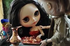Anulação de casamento - 2392 - (MUSSE2009) Tags: toys doll mohair blythe custom zade árabe scheherazade