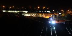 Junction Nightshift (darkprince66 (Tug Chasing Super Hero :D)) Tags: railway 66 railwaystations stations northwales freightliner britishrailways class66 drs networkrail directrailservices