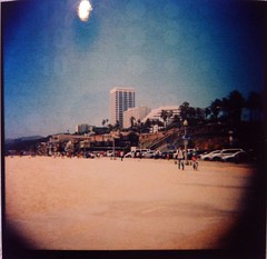 Camscanner13 (riotflakes) Tags: santa venice friends beach vintage los lomo lomography angeles pinhole fisheye diana monica f analogue
