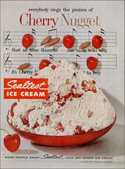 Cherry Nugget 57 Sealtest (1950sUnlimited) Tags: food design desserts icecream 1950s packaging snacks 1960s dairy midcentury snackfood sealtest