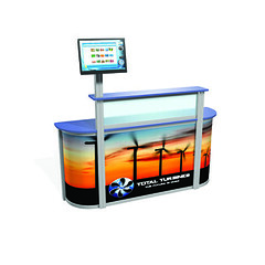 Information service desk (Impact Signs UK) Tags: lighting floor kiosk canopy receptiondesk informationdesk computerdesk counters digitalprint computerworkstation displaystand exhibitionstand tradestand displaypanels acrylicdisplay platformfloor exhibitionlighting tradeexhibition avunits plasmaunit