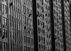 New York facade (trullez) Tags: newyork lines architecture buildings manhattan facades front neroameta