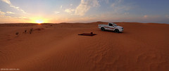 ( ibrahim) Tags: sunset sky panorama sun nature mobile landscape photography sand desert photos drought sands  ibrahim iphone hilux                  iphone4s