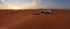 ( ibrahim) Tags: sunset sky panorama sun nature mobile landscape photography sand desert photos drought sands  ibrahim iphone hilux                  iphone4s