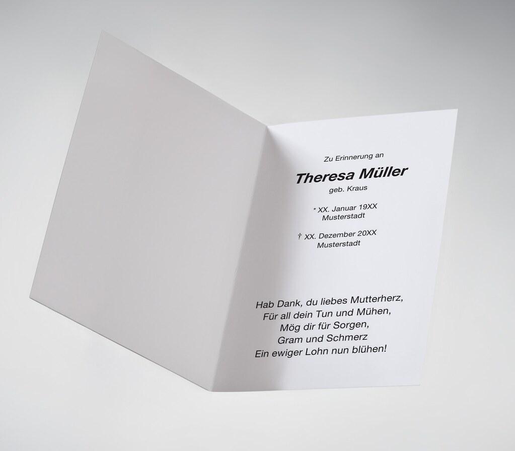 Trauerbild memento trauerkarten tags memento gestalten druck persönlich drucken danksagung dankeskarte trauerkarte trauerdanksagung