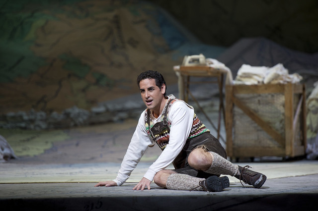 "Juan Diego Flórez in La fille du régiment.  Photo by Bill Cooper  <a href=""http://www.roh.org.uk"" rel=""nofollow"">www.roh.org.uk</a>"