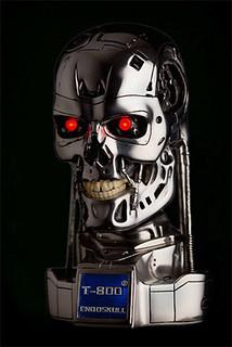 魔鬼終結者2:T-800 1/2比例機械骷髏頭