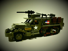 M3 Half-track (Project Azazel) Tags: us lego pa ba custom m3 decals allied odg brickarms m3halftrack legomilitary thesecondworldwar legoww2 ww2lego legom3halftrack olddarkgrey projectazazel legomilitarymodel wwlllego legoallied customww2 alliedarmour