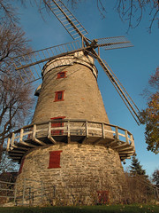 Le Moulin Flemming, La Salle (Quebec) (Pentax_clic) Tags: november windmill rural canon moulin novembre quebec lasalle g12 champetre