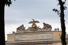 Schnbrunn Palace Garden Gloriette 2 (Martin Gordon) Tags: vienna flowers architecture garden austria colorful europe eagles rococo schonbrunn gloriette schnbrunnpalace