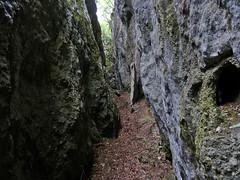 Escursionismo Gran Sasso - Gole dell'Inferno Spaccato