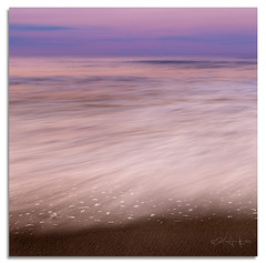 Simple Beauty, Waves (Del.Higgins) Tags: new light sunset lighthouse beach sunrise island long waves august olympus shore jersey barnegat predawn 2012 oly