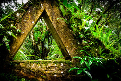 triangles. everywhere. (The Cookiemonster) Tags: nature ruins decay natur ruin jungle decayed mexiko lahuasteca edwardjames castillodeedwardjames