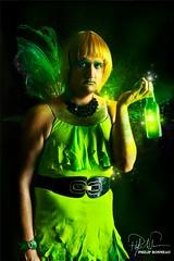 tinkerbell (Philip Bonneau) Tags: green drag bottle wings tinkerbell peterpan disney fairy dragqueen philip bonneau