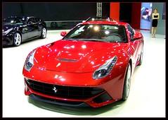 Ferrari F12 Berlinetta @ Istanbul Auto Show 2012 (keremk) Tags: show red cars wheels istanbul ferrari vehicles transportation rides autos rosso scuderia 2012 corsa f12 berlinetta