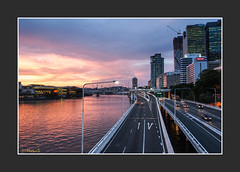 Late for sunset (dtmateojr) Tags: sunset summer reflection night river australia brisbane brisvegas queensland omd 1250 em5 dtmateojr