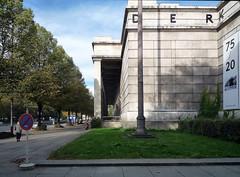 Haus der Kunst, oblique view