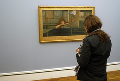 Fernand Khnopff, I Lock the Door Upon Myself, with Beth