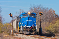 Win (Train Chaser) Tags: ns norfolksouthern es44ac evwr evansvillewestern ns8098 evwrndn1