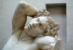 Barberini Faun, head