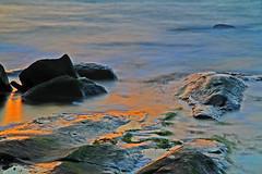 Solspeglingar (Quo Vadis2010) Tags: motion water se movement sweden air sverige westcoast vatten luft movements halmstad tylsand halland longtimeexposure rrelse motions vstkust tyludden irrelse lngexponeringstid rrelser