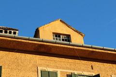 Strada Metroplitiei - Sibiu, Jud. Sibiu, Romania (Wayne W G) Tags: windows roof window yellow gold europe decay roofs golds romania yellows roofline easterneurope decaying rooflines sibiu geo:country=romania
