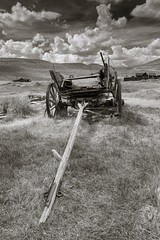 Old Bodie cart (Xiphoid8) Tags: old abandoned wagon decay rustic ghosttown bodie bodieghosttown oldwagon monocounty abandonedtown bodiecalifornia oldcart blackwhitephotos bodieca goldtown monocountyca bodiecart bodieworkcart oldworkcart