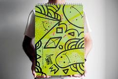 Schizzi A3+ | Bruno Miranda (schizzibooks_) Tags: illustration artist arte sketchbook a3 stationery desenho esboo papelaria schizzi brunomiranda schizzibooks