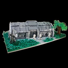 Imperial Outpost (Dex J) Tags: star lego imperial wars base outpost moc