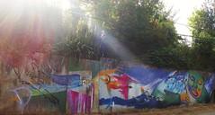 (proceso de) niñx escribiendo un cuento (Felipe Smides) Tags: mural niebla valdivia smides felipesmides quarzomural claudiovoitmann