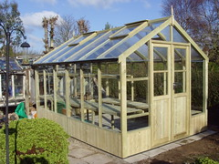 Swallow Raven (8'9 x 12'7) (greenhouses uk) Tags: timber greenhouse swallow raven 8x12