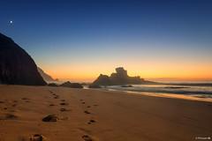 dream ... (picture 4B) Tags: sunset sea sun beach portugal nature rock strand sand meer sonnenuntergang natur dream spuren fels sonne felsen atlantik traum viladobispo distriktfaro sonya77 sonya77v
