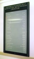Interior Wayfinding Building Directory