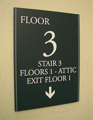 Interior Wayfinding and Life Safety Compliant Signage