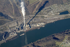 Smokestack (Pictometry International Corp.) Tags: photography aerial smokestack oblique imagery pictometry