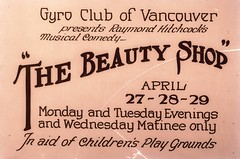 Gyro Club of Vancouver presents Raymond Hitchcock's