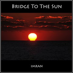 The Bridge To The Sun - IMRAN™ -- 30,000+ Views! (ImranAnwar) Tags: autobiography beach bridge cloud d300 eastpatchogue family fire future imran imrananwar legacy life longisland memory nature newyork nikon ocean philosophy prose red sea sky suffolk sun sunset waves yellow