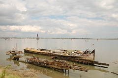 Wrecks at Maldon, Essex (Iain B. of Over) Tags: maldon thamessailingbarge