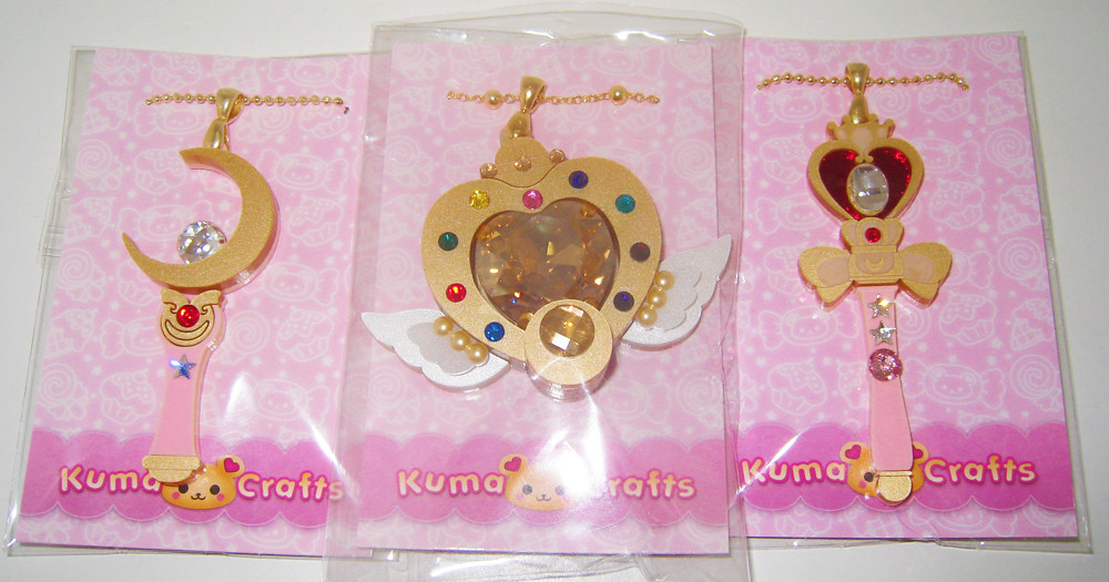 92678a72a25 Kuma Crafts Necklaces (ochibawolf) Tags: moon spiral toy toys necklace heart  wand crafts