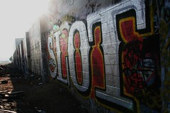 SLOT BAMC (SPEAR1X) Tags: streetart wall canon graffiti socal user spraypaint graff slot krs delt bamc sloter rasl cnial