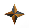 Radiant Four-pointed Star