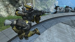 Flying knee (SeannyBoy32) Tags: ar halo hero reach haloreach