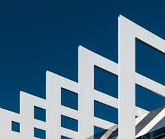 Rafael de La-Hoz. Repsol Headquarters #4 (Ximo Michavila) Tags: madrid blue shado