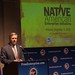 Senator John Hoeven, R-N.D., addresses meeting attendees at the inaugural Native American Enterprise Initiative at the U.S. Chamber of Commerce. The Chamber launched the Initiative on Nov. 29. The purpose of the Initiative is to promote the interests and agenda of tribes and tribal entrepreneurs. The Navajo Nation is an official member of the Initiative. Dec. 3, 2012. Photo by Jared King / Navajo Nation Washington Office.