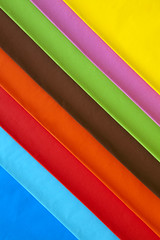 Playing with colour sheets... (Nasos Zovoilis) Tags: new pink blue red orange white house abstract color colour detail green art lines yellow metal shop set architecture painting paper studio print design office still rainbow construction colorful europe factory pattern technology spectrum graphic image symbol market sale background interior space group insulation wave plate nobody athens row business textures note greece simplicity page document roll sheet material variety satin shape sell information range samples copy variation isolated element