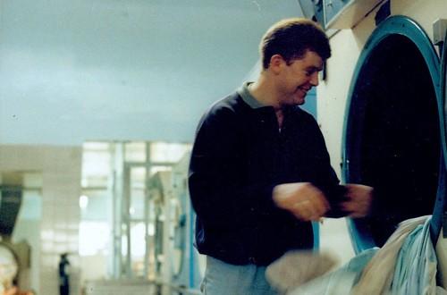 Glasgow Launderette 1990s