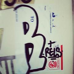 RELS (billy craven) Tags: chicago graffiti sticker handstyles cmk slaptag rels uploaded:by=instagram