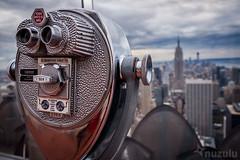 Top of the Rock (Nuzulu) Tags: newyork binoculars telescope empirestate topoftherock
